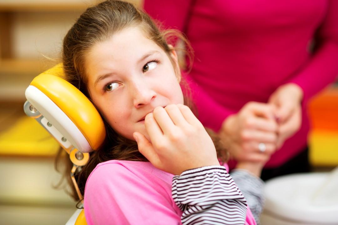 afraid of dentist